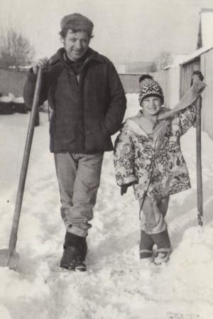 fotka spred takmer dvadsiatich rokov - ja a starý otec